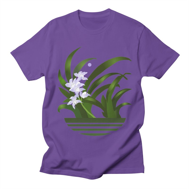 Orchid Moon Women's Unisex T-Shirt by Patricia Howitt's Artist Shop