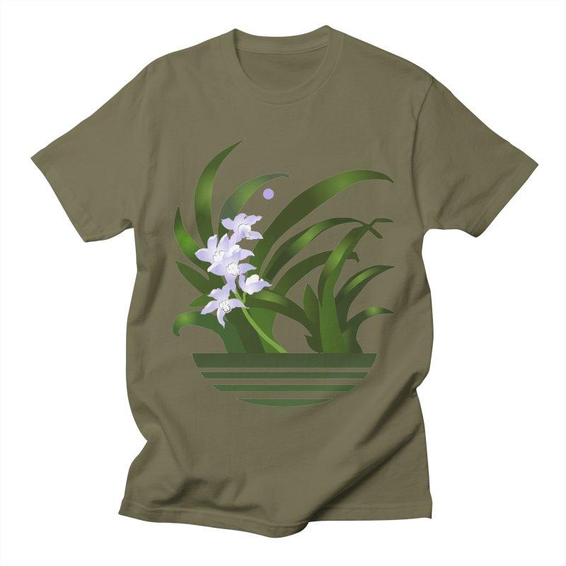 Orchid Moon Women's Regular Unisex T-Shirt by Patricia Howitt's Artist Shop