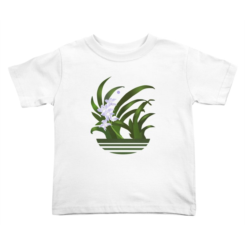 Orchid Moon Kids Toddler T-Shirt by Patricia Howitt's Artist Shop