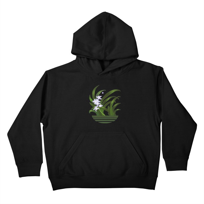 Orchid Moon Kids Pullover Hoody by Patricia Howitt's Artist Shop