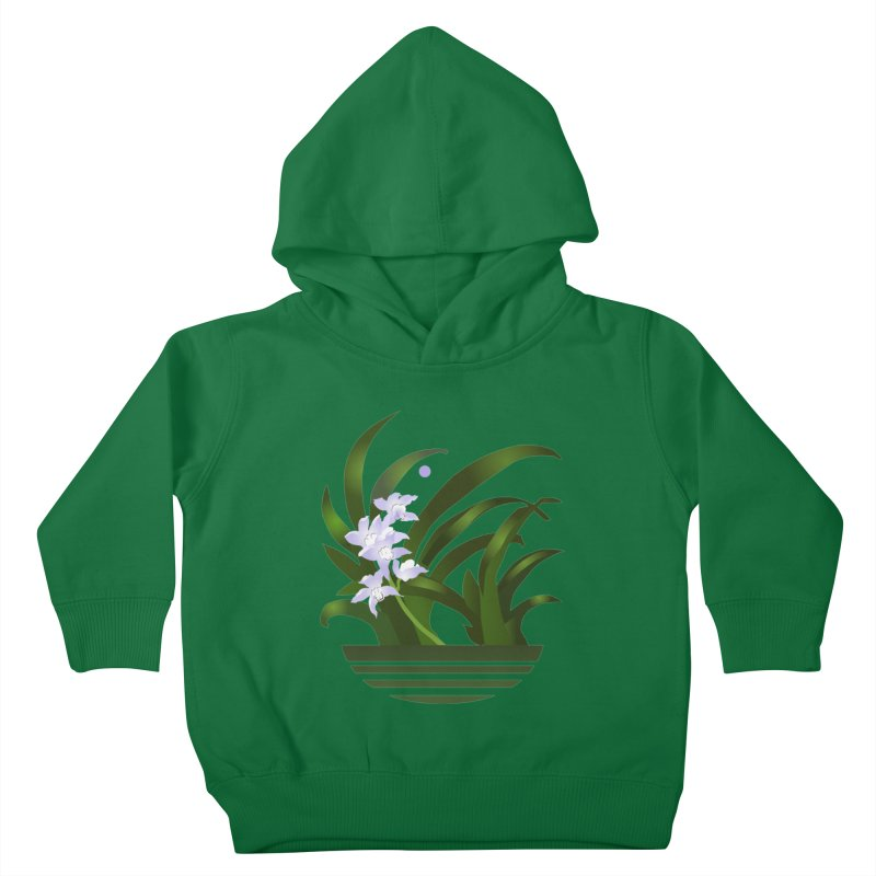 Orchid Moon Kids Toddler Pullover Hoody by Patricia Howitt's Artist Shop