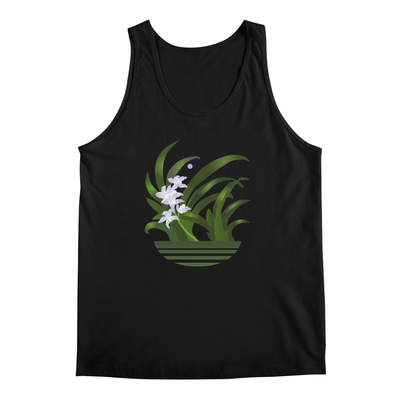 Orchid Moon Men's Tank by Patricia Howitt's Artist Shop