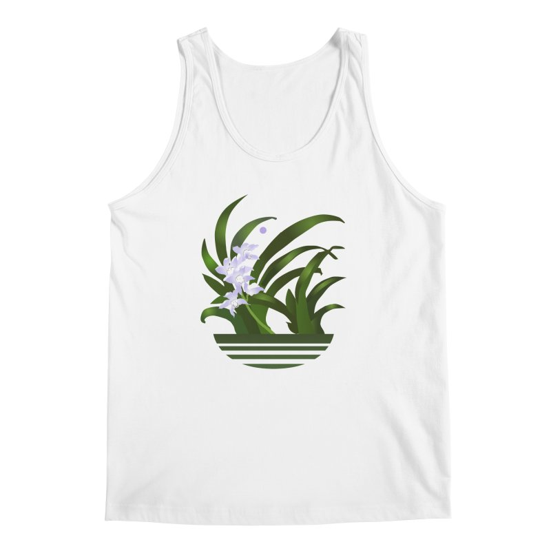 Orchid Moon Men's Regular Tank by Patricia Howitt's Artist Shop