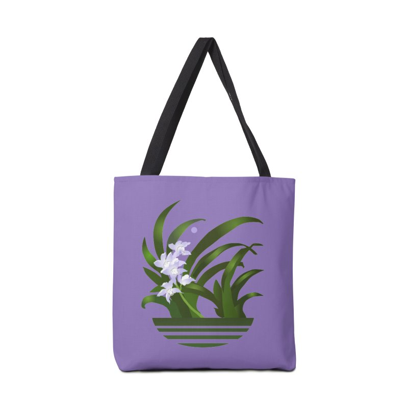 Orchid Moon Accessories Bag by Patricia Howitt's Artist Shop