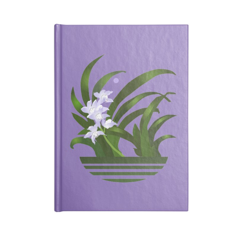 Orchid Moon Accessories Notebook by Patricia Howitt's Artist Shop