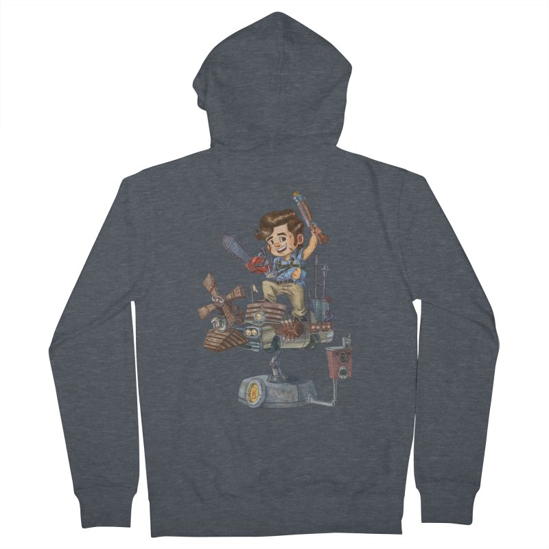 Here Comes The Boom Men's Zip-Up Hoody by Patrick Ballesteros Art Shop