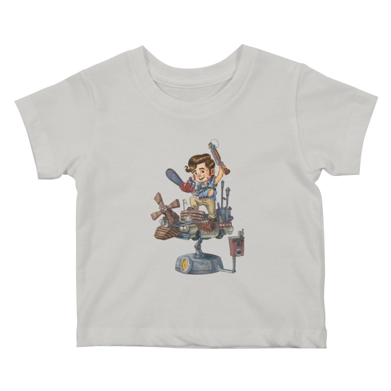Here Comes The Boom Kids Baby T-Shirt by Patrick Ballesteros Art Shop