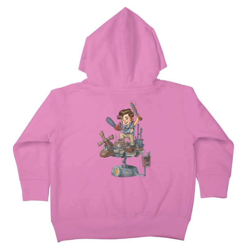 Here Comes The Boom Kids Toddler Zip-Up Hoody by Patrick Ballesteros Art Shop