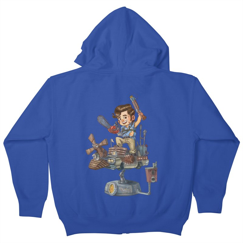 Here Comes The Boom Kids Zip-Up Hoody by Patrick Ballesteros Art Shop