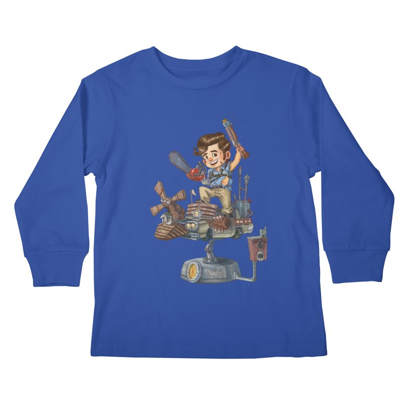 Here Comes The Boom Kids Longsleeve T-Shirt by Patrick Ballesteros Art Shop