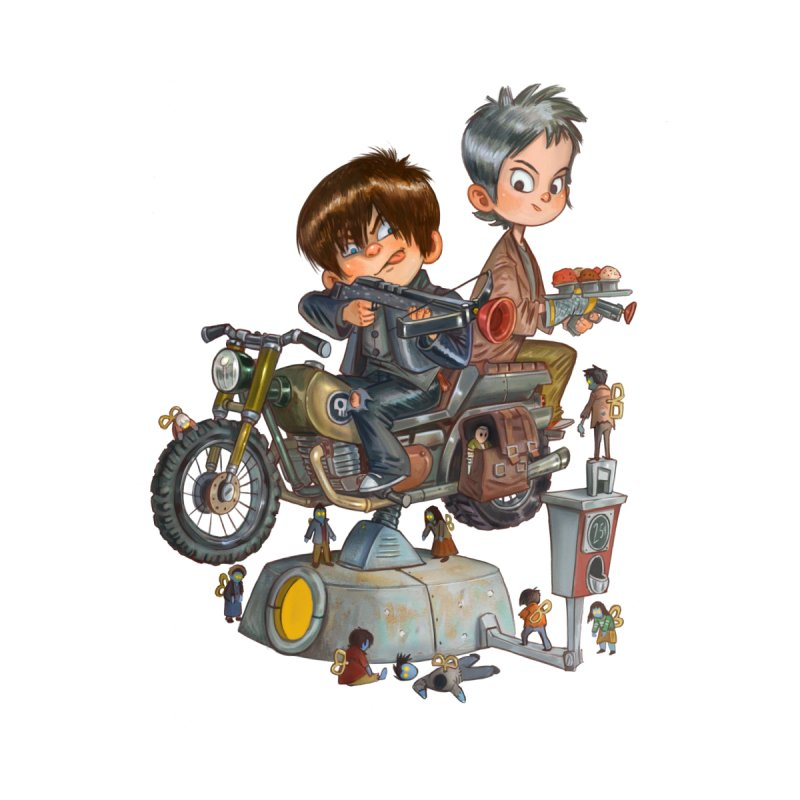 Is it Darol or Caryl   by Patrick Ballesteros Art Shop