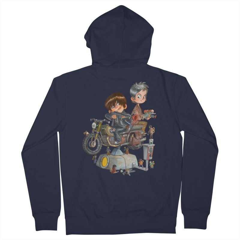 Is it Darol or Caryl Men's Zip-Up Hoody by Patrick Ballesteros Art Shop