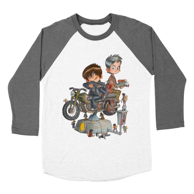 Is it Darol or Caryl Women's Baseball Triblend T-Shirt by Patrick Ballesteros Art Shop