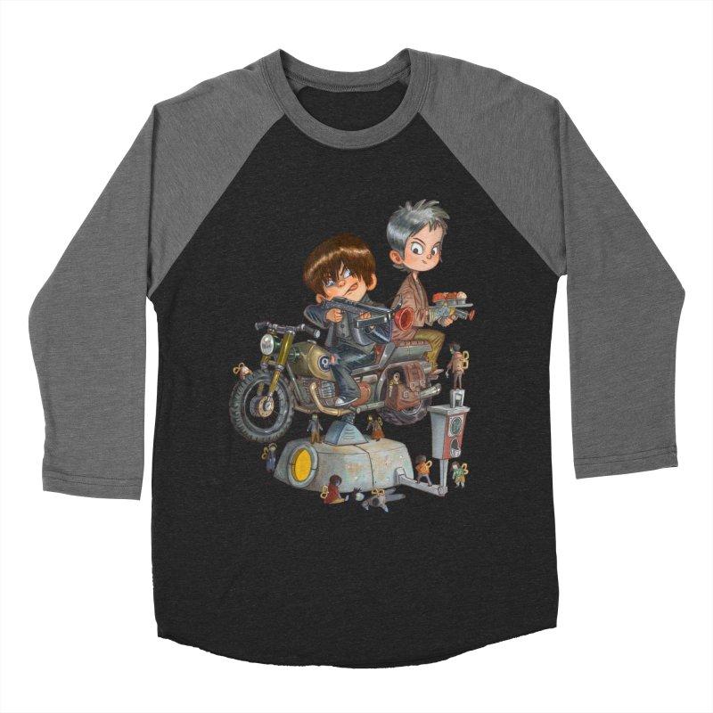 Is it Darol or Caryl Women's Baseball Triblend T-Shirt by Patrick Ballesteros Art Shop
