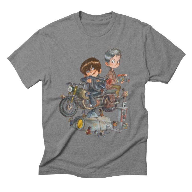 Is it Darol or Caryl Men's Triblend T-shirt by Patrick Ballesteros Art Shop