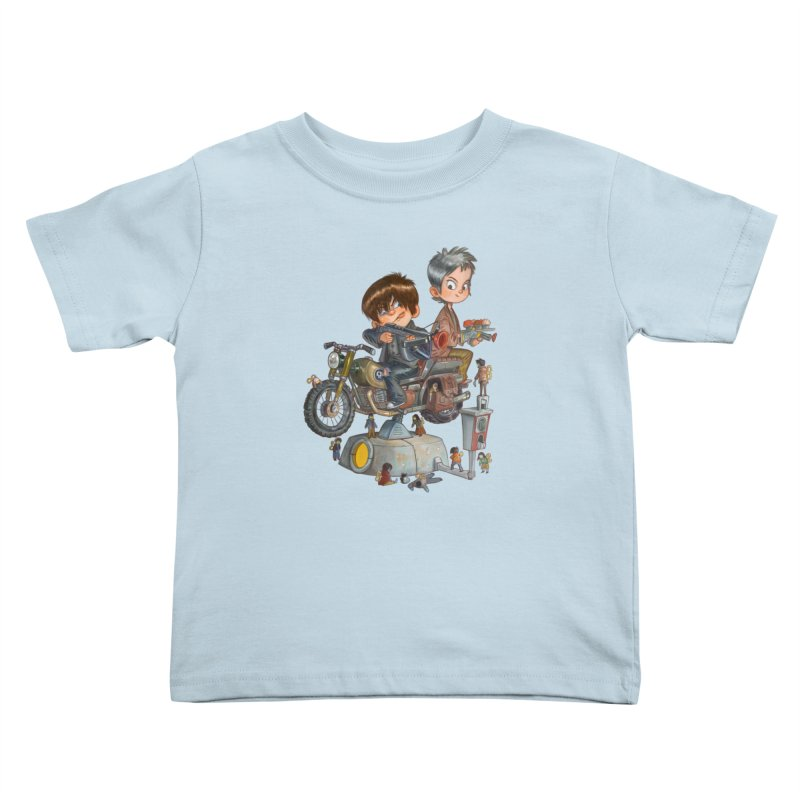 Is it Darol or Caryl Kids Toddler T-Shirt by Patrick Ballesteros Art Shop