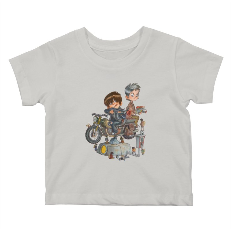 Is it Darol or Caryl Kids Baby T-Shirt by Patrick Ballesteros Art Shop