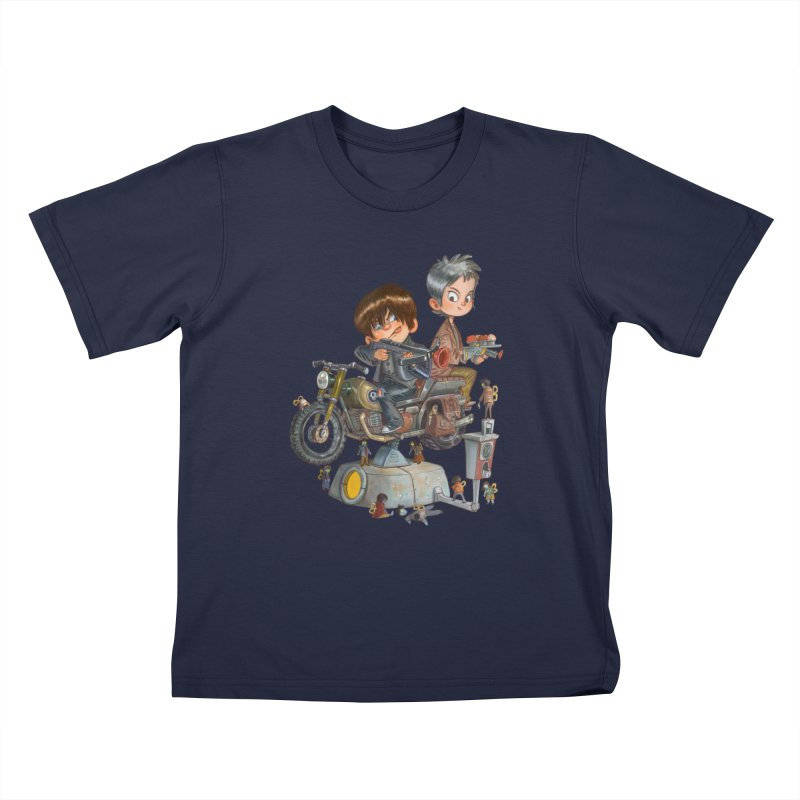 Is it Darol or Caryl Kids T-shirt by Patrick Ballesteros Art Shop