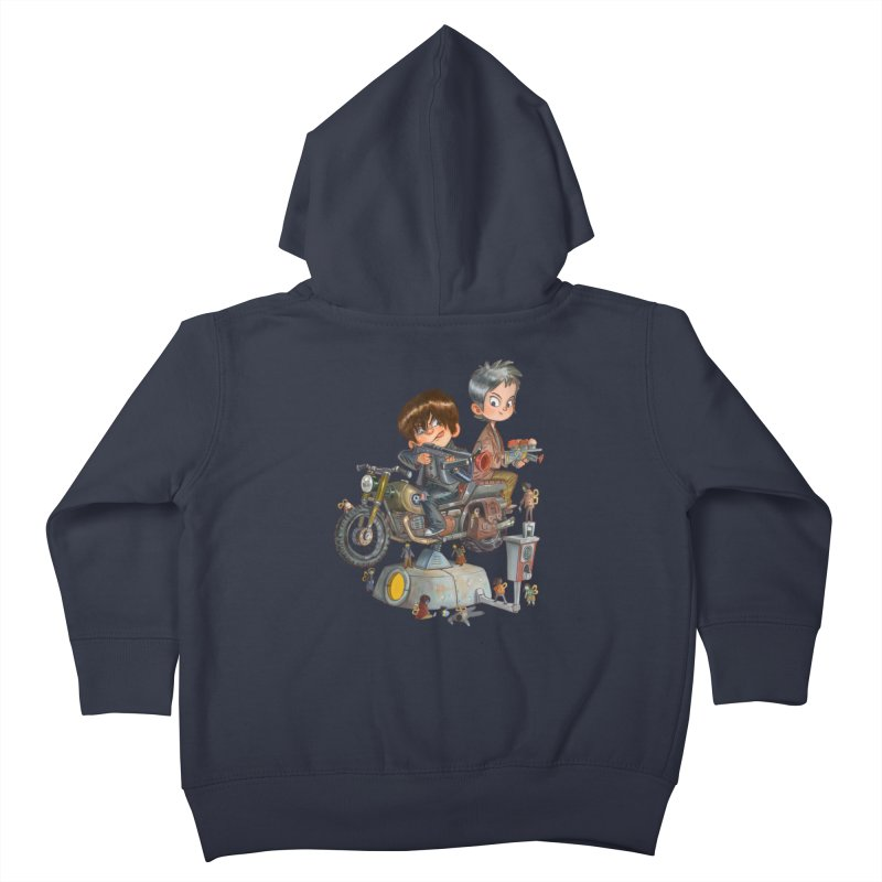 Is it Darol or Caryl Kids Toddler Zip-Up Hoody by Patrick Ballesteros Art Shop