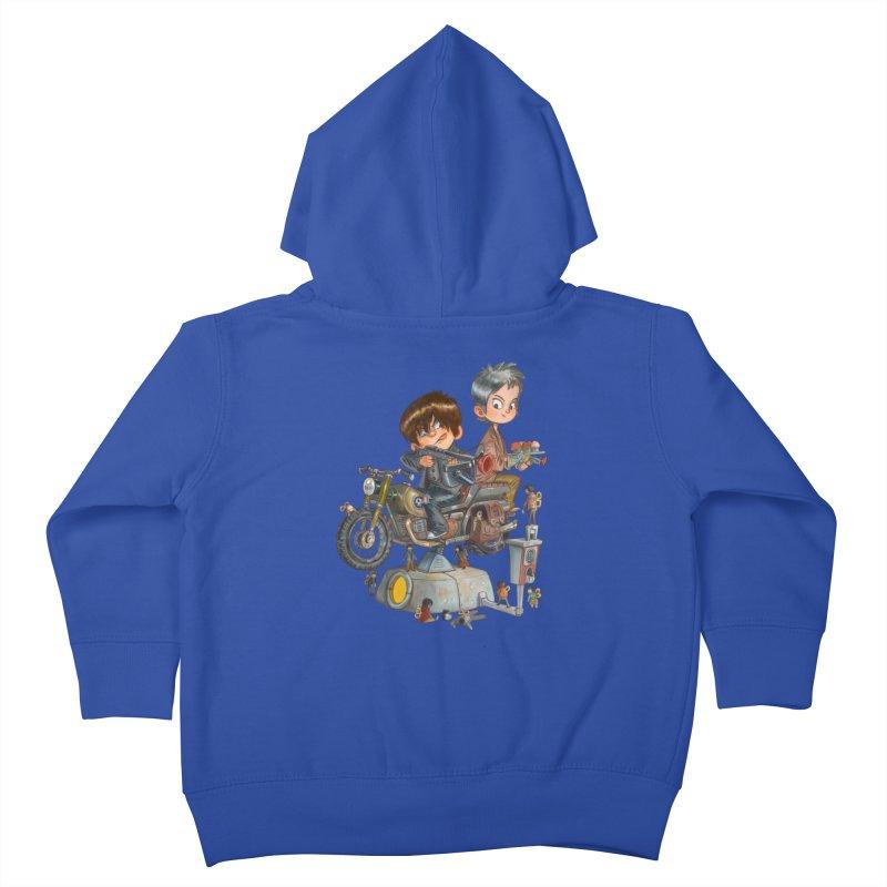 Is it Darol or Caryl Kids Toddler Zip-Up Hoody by Patrick Ballesteros Art Shop