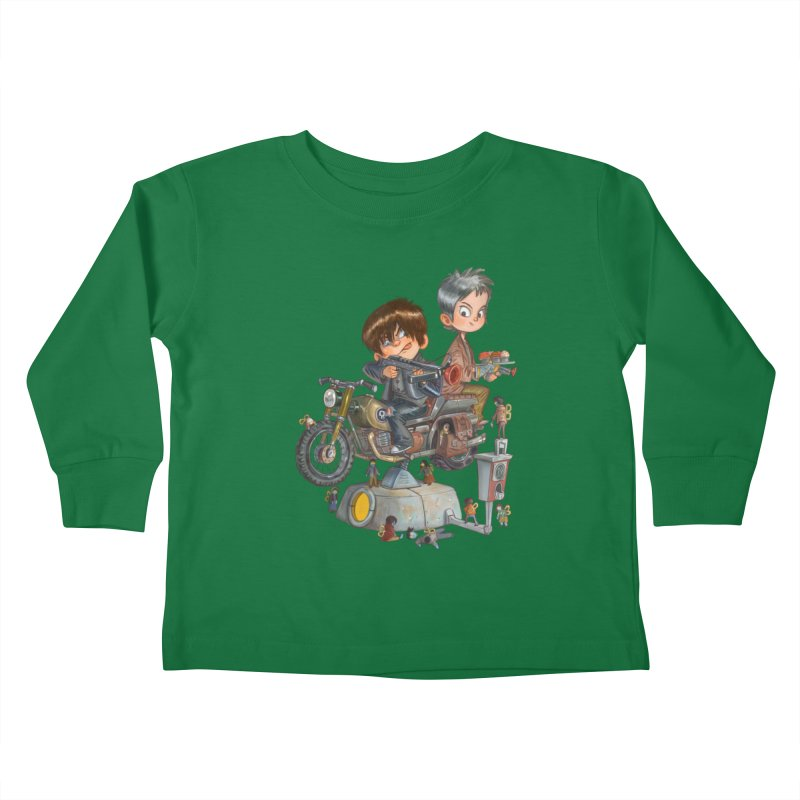 Is it Darol or Caryl Kids Toddler Longsleeve T-Shirt by Patrick Ballesteros Art Shop