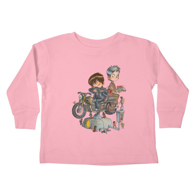 Is it Darol or Caryl Kids Toddler Longsleeve T-Shirt by Patrick Ballesteros Art Shop