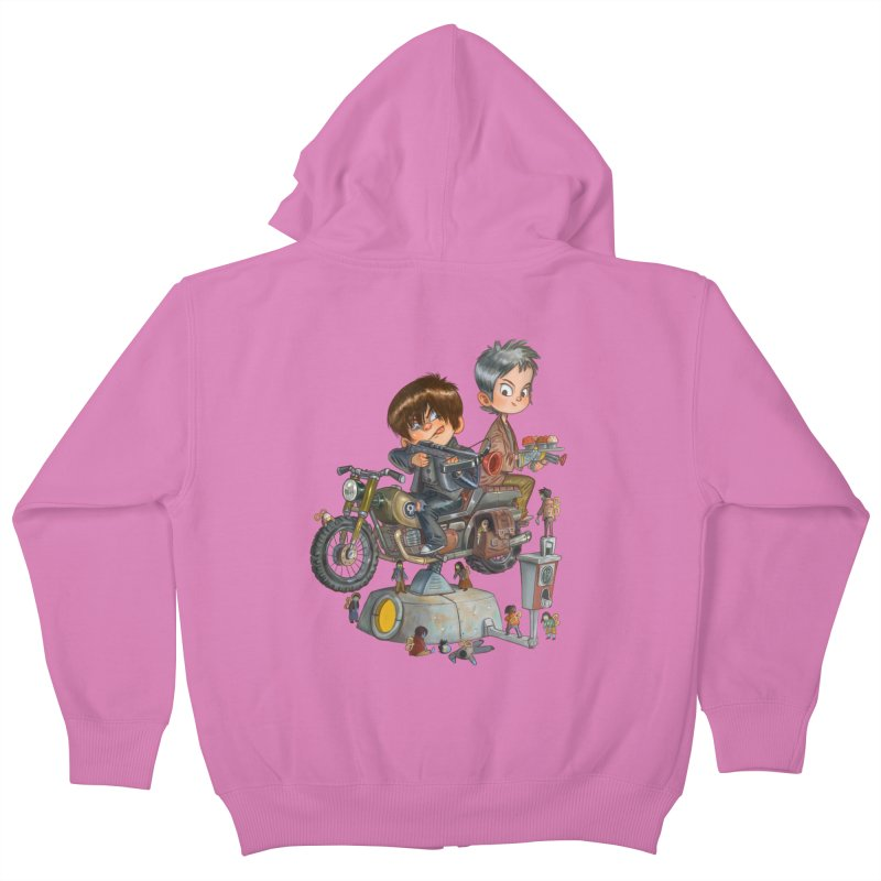 Is it Darol or Caryl Kids Zip-Up Hoody by Patrick Ballesteros Art Shop