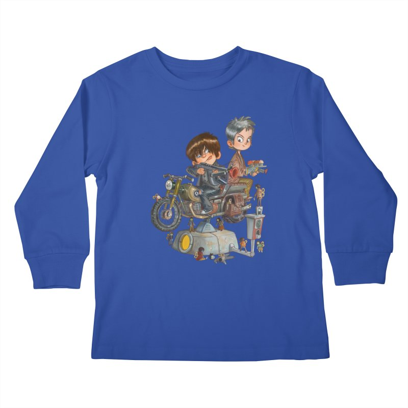 Is it Darol or Caryl Kids Longsleeve T-Shirt by Patrick Ballesteros Art Shop