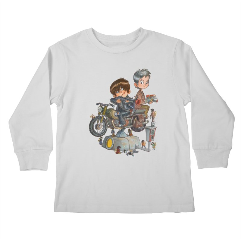 Is it Darol or Caryl Kids Longsleeve T-Shirt by Patrick Ballesteros Art Shop