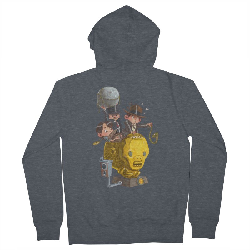 Raiding Party Men's French Terry Zip-Up Hoody by Patrick Ballesteros