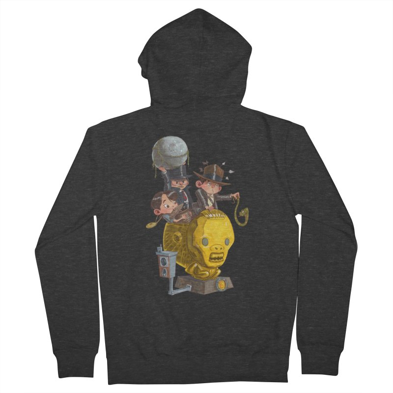 Raiding Party Men's Zip-Up Hoody by Patrick Ballesteros Art Shop