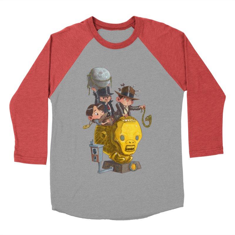 Raiding Party Women's Baseball Triblend T-Shirt by Patrick Ballesteros Art Shop