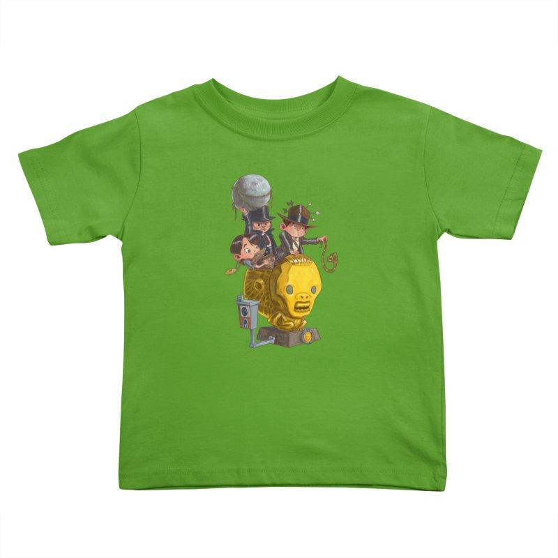Raiding Party Kids Toddler T-Shirt by Patrick Ballesteros