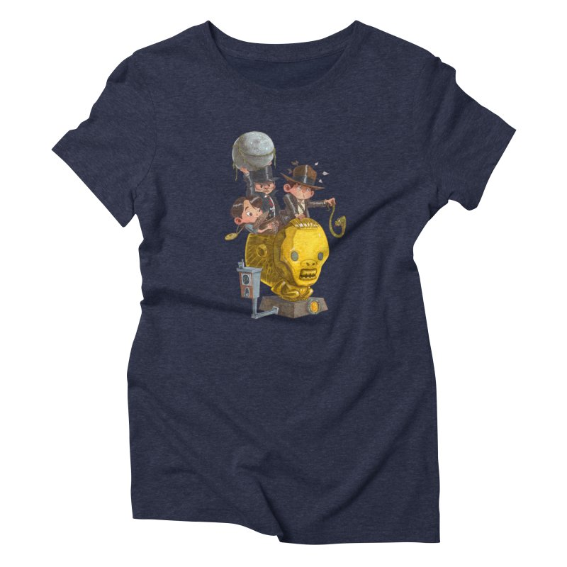 Raiding Party Women's T-Shirt by Patrick Ballesteros