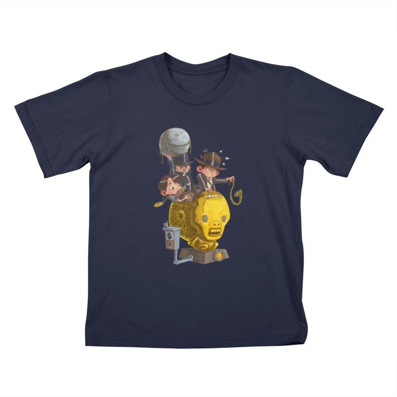 Raiding Party Kids T-Shirt by Patrick Ballesteros