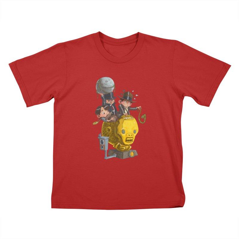 Raiding Party Kids T-shirt by Patrick Ballesteros Art Shop