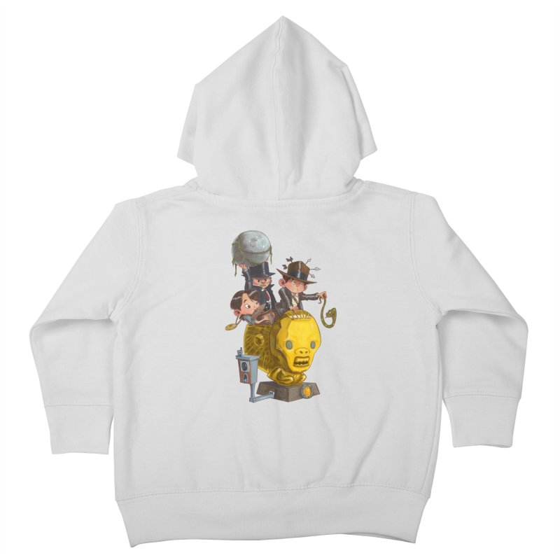 Raiding Party Kids Toddler Zip-Up Hoody by Patrick Ballesteros Art Shop