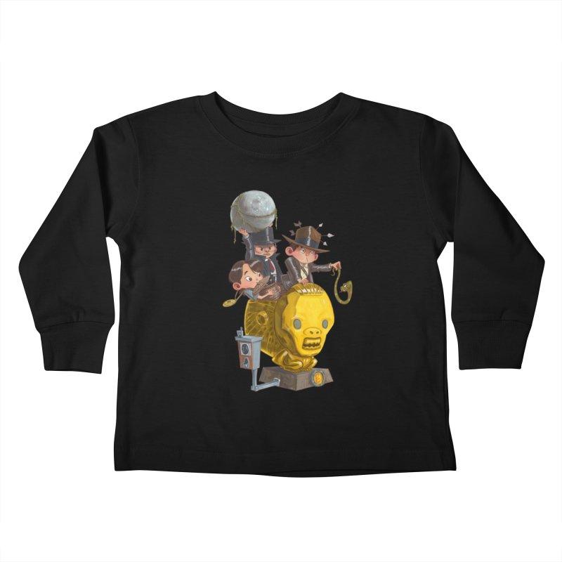 Raiding Party Kids Toddler Longsleeve T-Shirt by Patrick Ballesteros