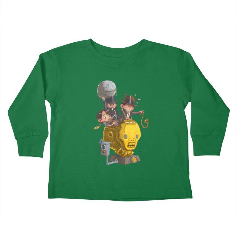 Raiding Party Kids Toddler Longsleeve T-Shirt by Patrick Ballesteros Art Shop