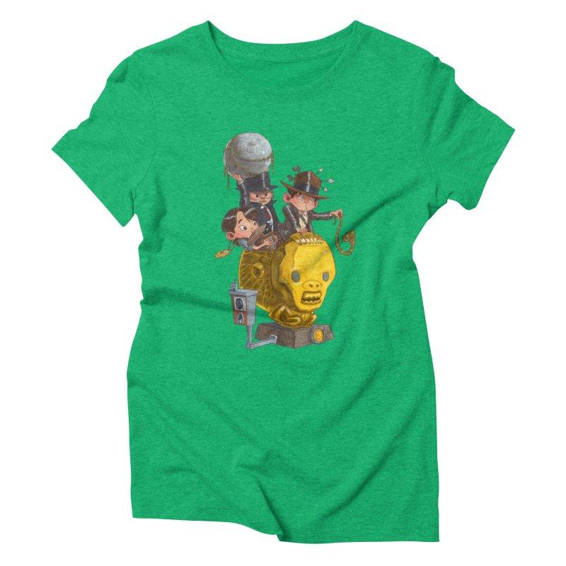 Raiding Party Women's Triblend T-shirt by Patrick Ballesteros Art Shop