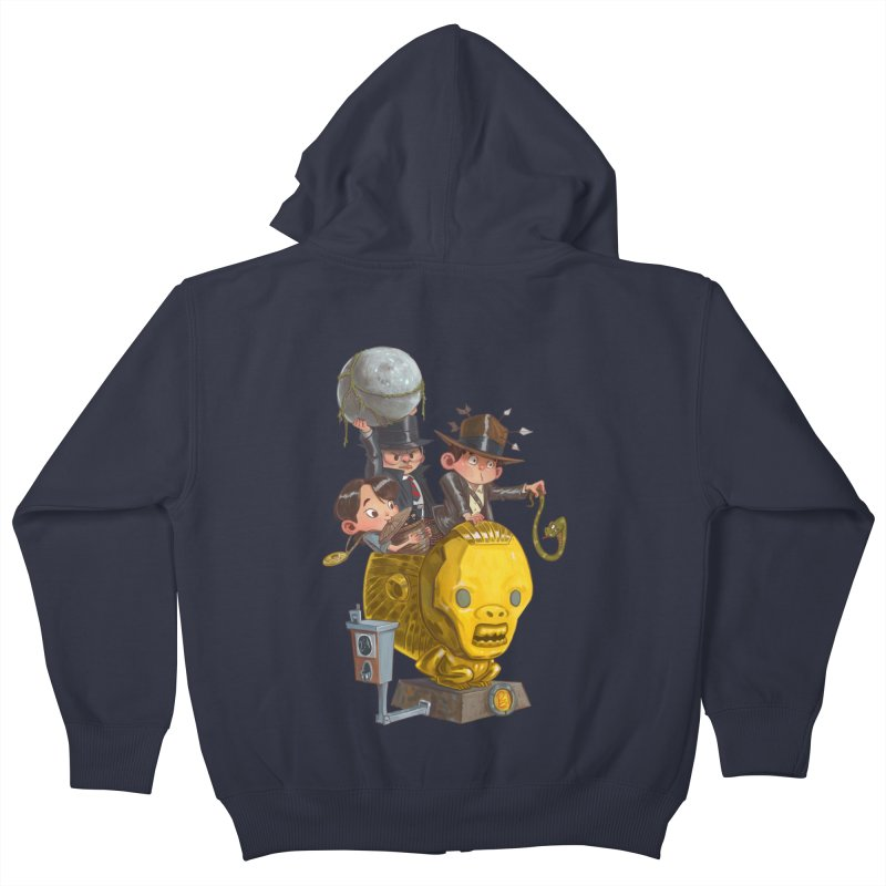 Raiding Party Kids Zip-Up Hoody by Patrick Ballesteros Art Shop