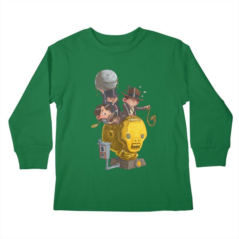 Raiding Party Kids Longsleeve T-Shirt by Patrick Ballesteros Art Shop