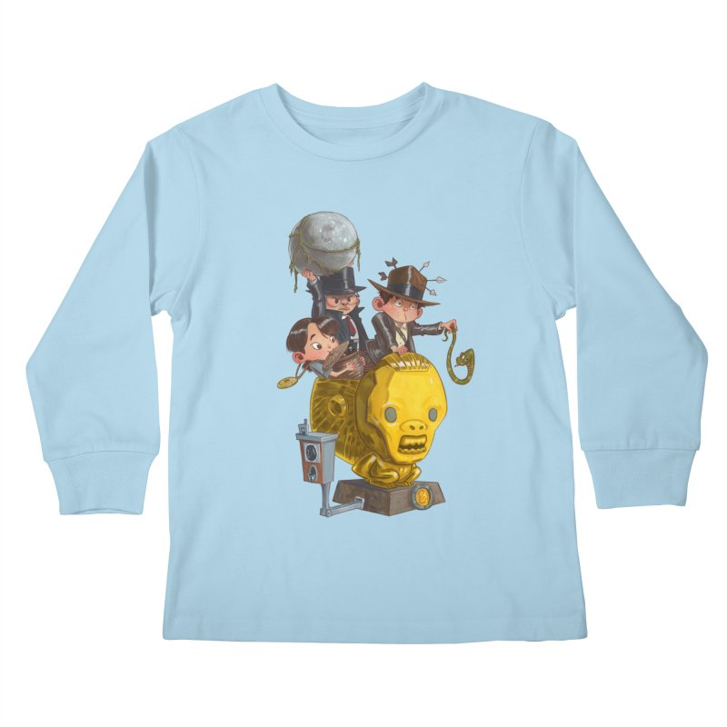 Raiding Party Kids Longsleeve T-Shirt by Patrick Ballesteros Art Shop