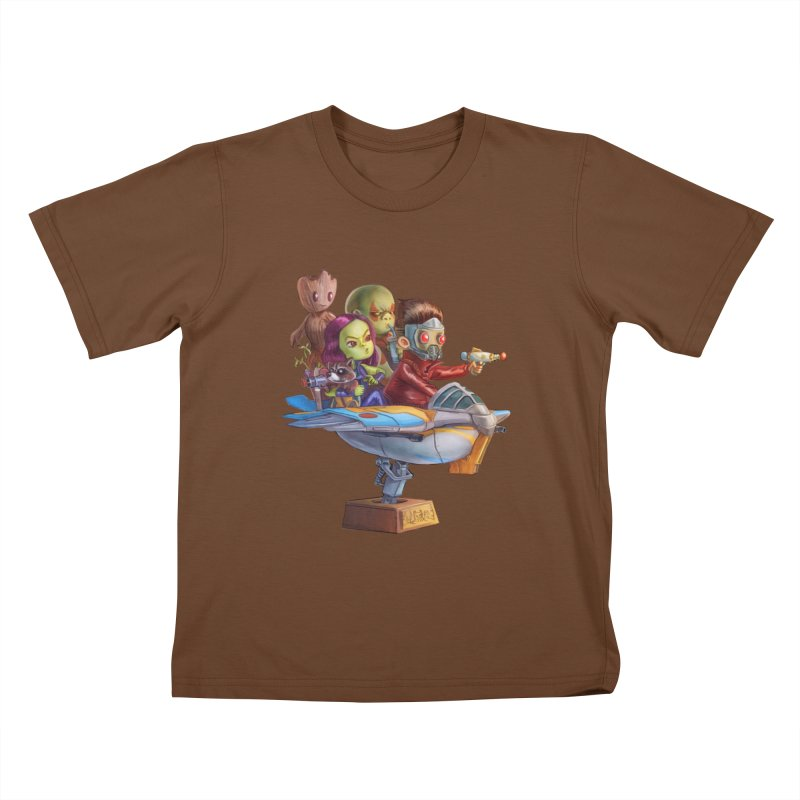 Galactic Kids Kids T-shirt by Patrick Ballesteros Art Shop