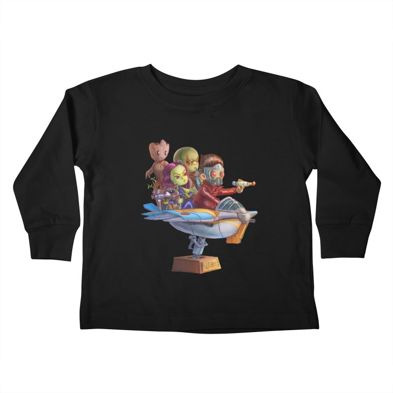 Galactic Kids Kids Toddler Longsleeve T-Shirt by Patrick Ballesteros Art Shop