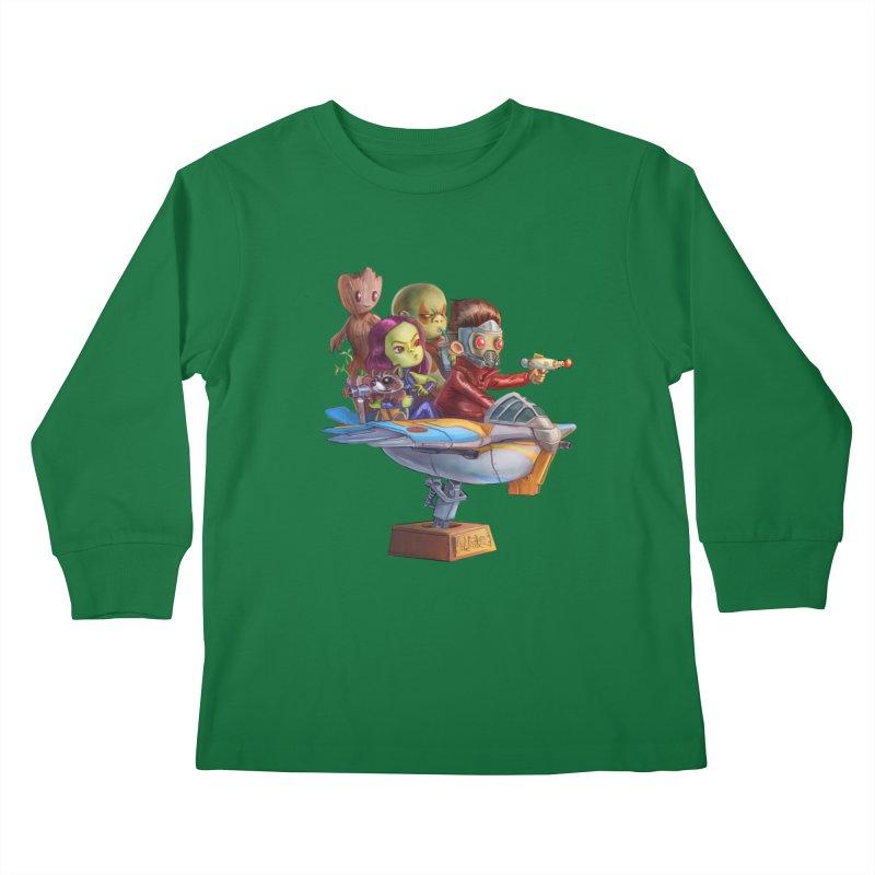 Galactic Kids Kids Longsleeve T-Shirt by Patrick Ballesteros Art Shop