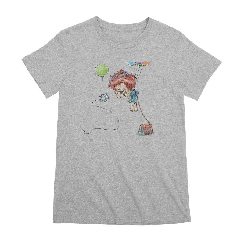 EL Women's Premium T-Shirt by Patrick Ballesteros