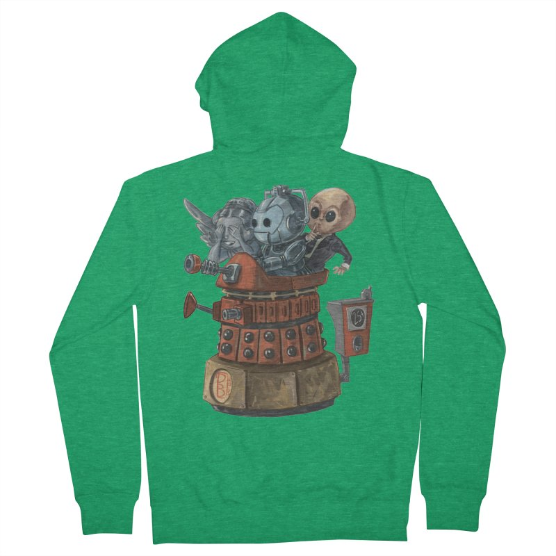 EXTERMINATORS Women's Zip-Up Hoody by Patrick Ballesteros