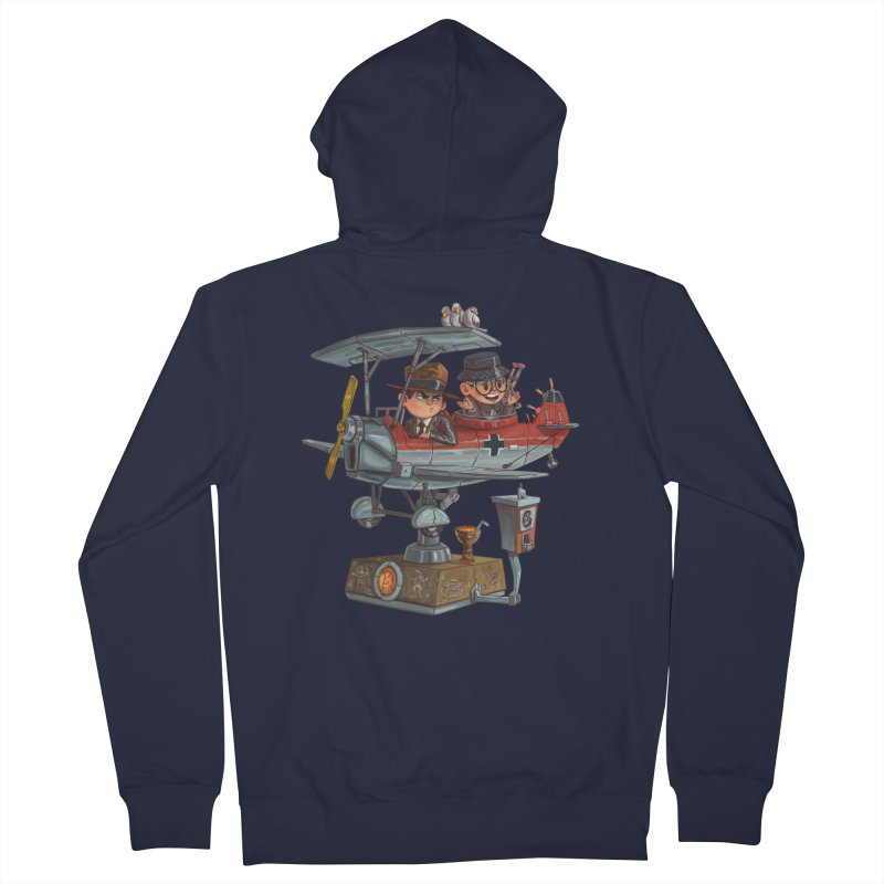 Last Flight Out Men's Zip-Up Hoody by Patrick Ballesteros Art Shop
