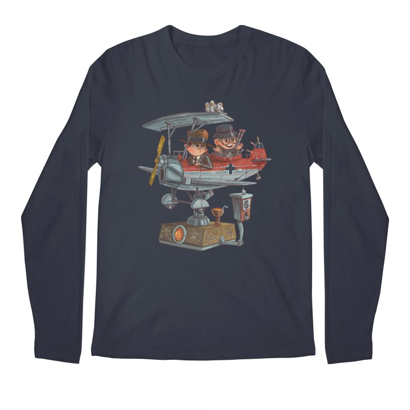 Last Flight Out Men's Longsleeve T-Shirt by Patrick Ballesteros Art Shop